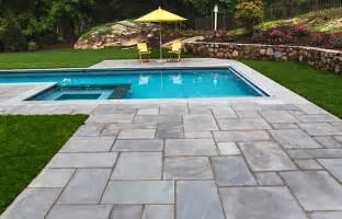 patio pool pools patios connecticut bluestone patio