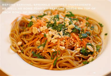 spicy thai noodles a small snippet