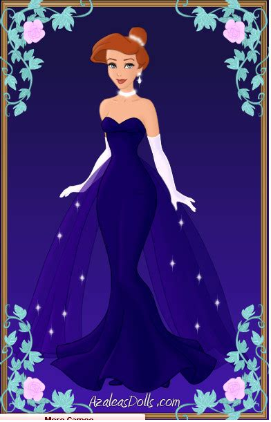 Anastasia Blue Ballet Gown by zozelini on DeviantArt