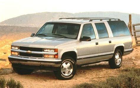1998 gmc suburban 1500 hatch glass installation 1998 chevrolet suburban cargo space specs view manufacturer details