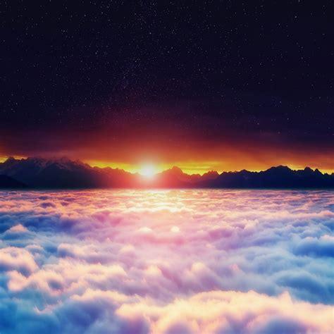 sunset   clouds nature qhd wallpaper wallpaper