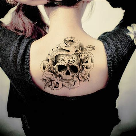 skull tattoos for females mytattooland skull ideas
