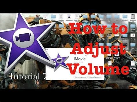 tutorial imovie 10 0 8 adjust your volume in imovie 10 0 1 tutorial 8 youtube