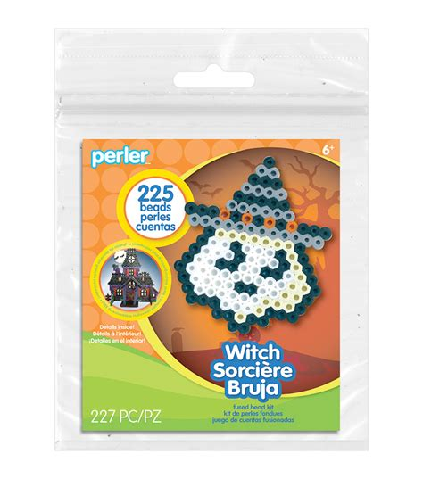 perler fused bead kit creepy witch jo