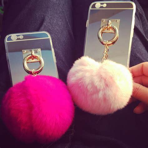 Iphone 6 6s Soft Tpu Mirror Metal Ring Stand get cheap fur phone aliexpress