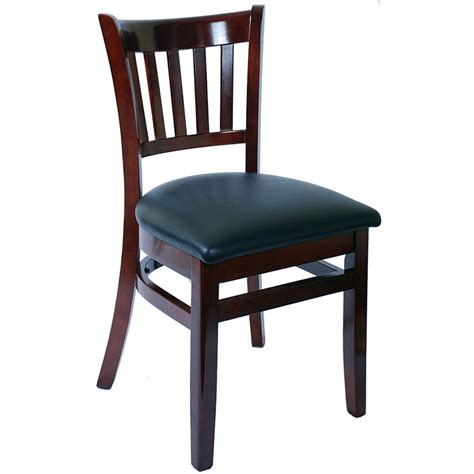 dining chairs restaurant wood vertical slat restaurant