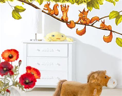 Wandtattoo Kinderzimmer Tiere Ebay by Wandtattoo Eichhoernchen Jubeln 131x50 Wand Sticker