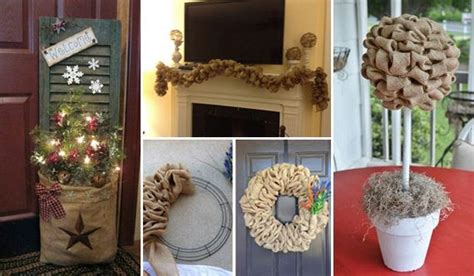 burlap home decor ideas amazing diy decorating ideas you could do with burlap