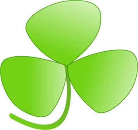 Three Leaves Charm Charm Tiga Daun clover clip at clker vector clip