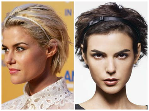 headbands for hair thinning great looking headbands for short hair hair world magazine