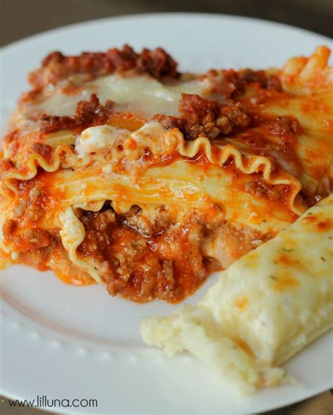 Easy Lasagna Recipe Cottage Cheese by Easy Lasagna Recipe
