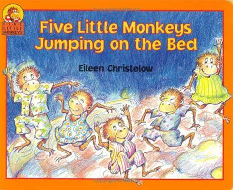 monkeys jumping on the bed song five little monkeys printable documento sin t 237 tulo