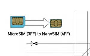 how to cut sim to micro sim without template convert nano sim to micro sim diy crafts