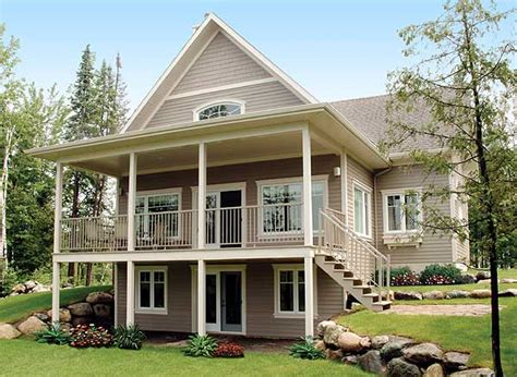 cottage plans designs covered porch house plans space for the family