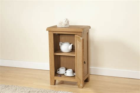 Small Cabinet With Door Shrewsbury Oak Small Cabinet With 1 Door Oak Furniture Solutions