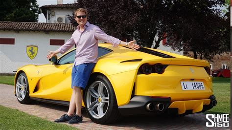 Ferrari 812 Superfast Youtube by This Is The New Ferrari 812 Superfast Youtube