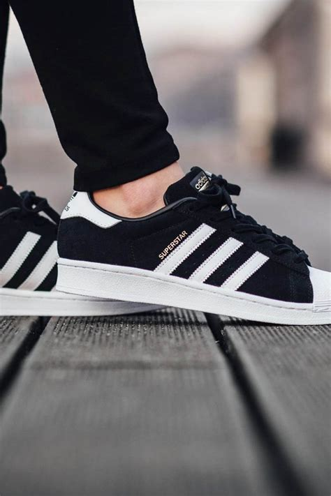 black and white pattern adidas adidas superstar black shoes equipped with herringbone