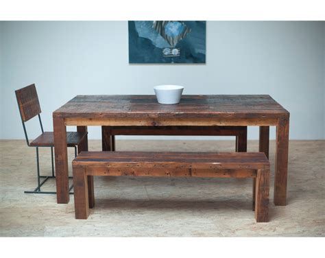 Amazing reclaimed wood furniture dining table ideas exotics piece of
