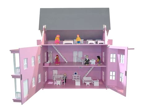 pink wooden doll house pink doll house 28 images wooden pink dolls house kit