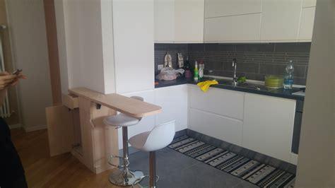 tavolo a ribalta tavolo a ribalta cucina su spalla di cartongesso creocasa
