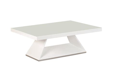 White Glass Coffee Table White High Gloss White Glass Coffee Table Ebay