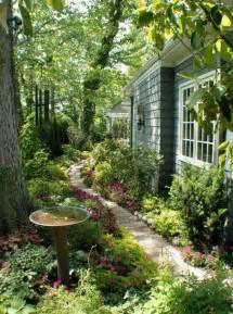 side yard landscape design gardening outdoors pinterest