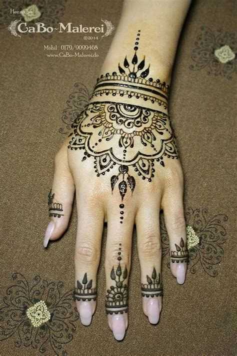 henna tattoos on hand mehendi design and india on