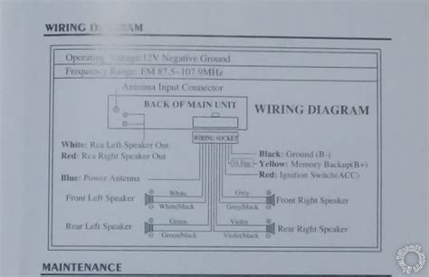xo vision car stereo wiring diagram xo free engine image