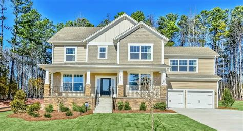 New Homes In Springs Nc Southern Trace Traditions New Home Community