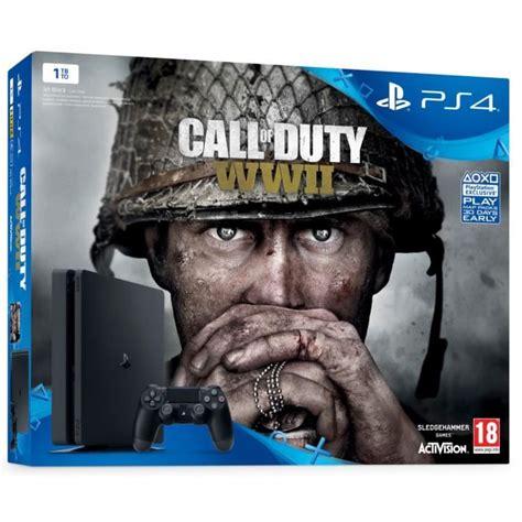 Ps4 Cod World War Ii Call Of Duty Wwii Pro Edition Reg 3 1 nouvelle ps4 slim 1 to call of duty world war ii qui es tu jeu playlink 224 t 233 l 233 charger