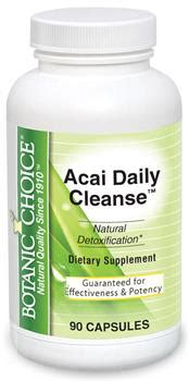 Detox Maintain Restore by Botanic Choice Saver Acai Daily Cleanse