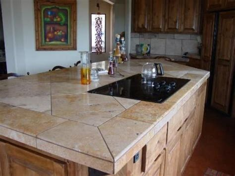 kitchen tile countertop ideas 78 best ideas about tile kitchen countertops on