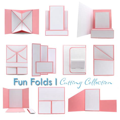 how to make folding cards pazzles cutting files pazzles cutting collection
