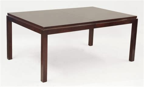 henredon dining table henredon modern mahogany dining table 1657366