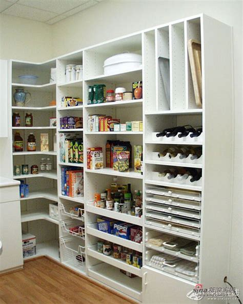 kitchen bookcase ideas l shaped pantry one wall shelves corner shelf other