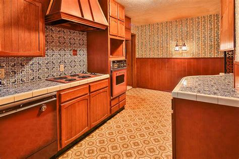 1960 s kitchen time capsule house with spectular 1970s mediterranean