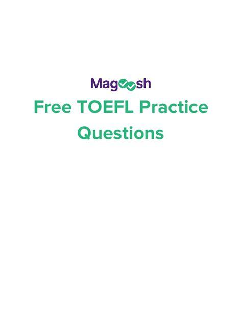 toefl speaking section practice online toefl practice questions