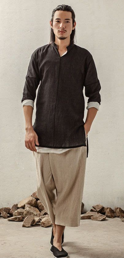 Custom Shirts Without Meeting The Tailor by S Fashion In Style Cotton Linen Kungfu Martial