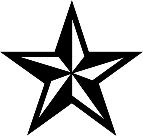 nautical star tattoo nautical tattoos png transparent images png all