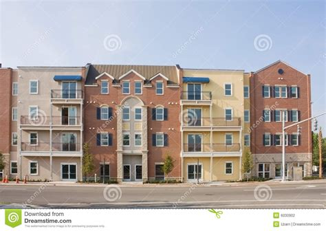 Apartments Gainesville Fl Downtown Mixed Style Apartments Stock Photography Image 6030902