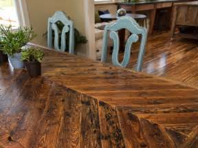 Best Wood To Make A Dining Room Table How To Build A Dining Table With Reclaimed Materials How Tos Diy