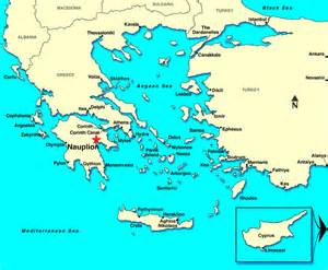 Troy Greece Map by Nauplion Greece Discount Cruises Last Minute Cruises