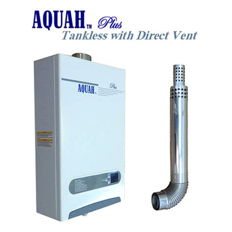 Gas Water Heater Blue Gas Aquah 10l 2 7 Gpm Direct Vent Gas Tankless Gas Water Heater Ebay