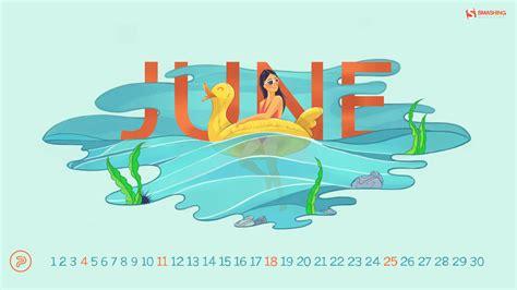 desktop wallpapers calendar june   images