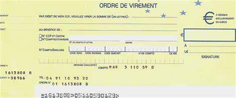 Exemple De Lettre Virement Bancaire Modele Lettre Virement Bancaire Ponctuel