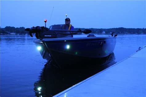 boat docking lights install attwood led docking light wider beam stainless steel bezel