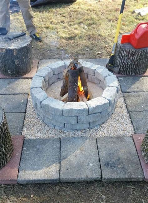 making a fire pit in your backyard how to build a diy fire pit in your own backyard 10 pics