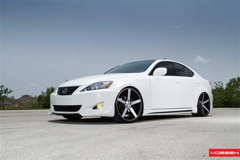 Lexus Is350 On Vossen Vvs Cv3 Wheels Forcegt Com