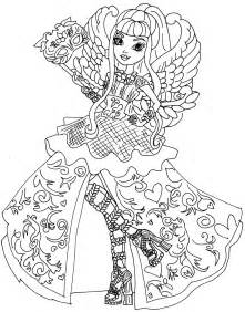 ever after monster high coloring pages ever after high para colorir pesquisa google colouring