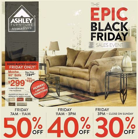 black friday deals on couches ashley furniture 2014 black friday ad black friday